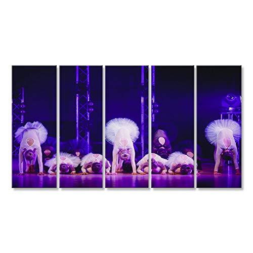 9f6b6b315b islandburner Canvas Wall Art Ballerina. Backstage concert on stage of  ballerina artists show dance in