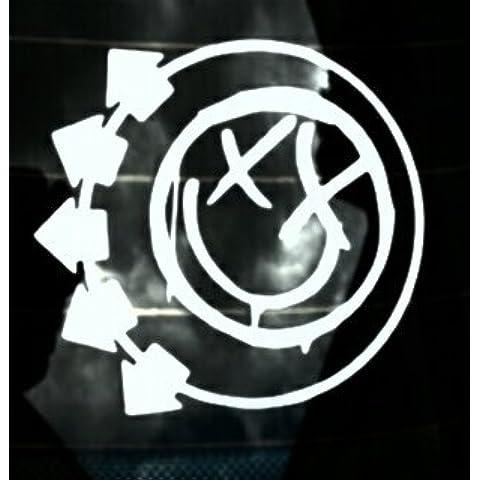 Blink 182Logo, Adesivi, vinile, High Quality Product. + colore a scelta