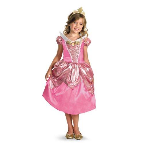Disguise Disney Princess Aurora Shimmer Deluxe Kostüm - Deluxe Aurora Für Erwachsenen Kostüm