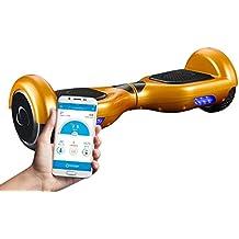 """SmartGyroX2, Patinete eléctrico con batería Samsung y certificado UL2272, color oro, talla 6.5"""""""