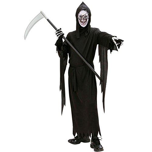 kostüm Sensenmann, 140 cm (Kinder-halloween-kostüme Gruselig)