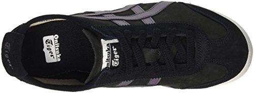 Onistuka Tiger Mexico 66 Unisex-Erwachsene Sneakers Schwarz (Black/Shark)