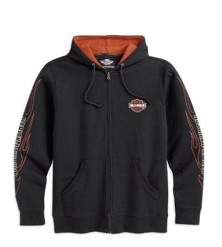 harley-davidson-flames-hooded-sweatshirt-99001-16vm-herren-sweater-schwarz-xxl