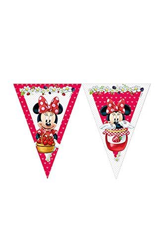 Unique Party Supplies 2,3 m Jam verpackt Disney Minnie -