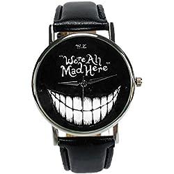"""Woodstock Zambon - Reloj """"gato de Cheshire"""""""