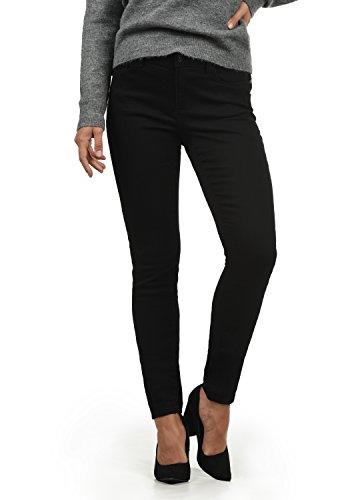VERO MODA Diamant Damen Jeans Denim Hose Strech Mid-Rise, Farbe:Black, Größe:L/ L30