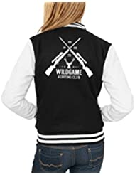 Hunting Club College Vest Girls Negro Certified Freak