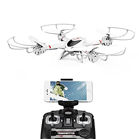 MJX X400 W WiFi FPV Drone Camera Head Los Mode Car