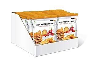 Supplify Protein Chips - Eiweiß Fitness Snack Mix Box, Whey Proteinpulver und...