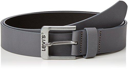 Levi's Herren Gürtel Free, Grau (Noir Regular Grey), 90 (Herstellergröße: 105)