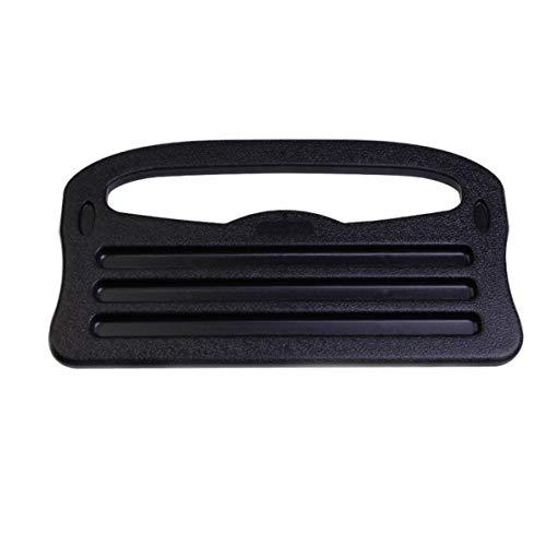 WEIWEITOE Multifunktionale tragbare Auto Laptop Essen Lenkrad Schreibtisch Schwarz Fahrzeug Tragbare Halterung Tablett Laptop Notebook Tisch, schwarz,