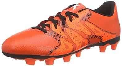 adidas Performance  X15.4 FxG, Chaussures de Football homme - Rouge - Rot (Bold Orange/Ftwr White/Solar Orange), 39 1/3
