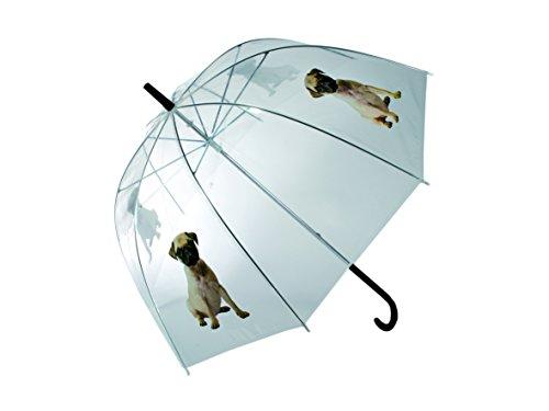Sonstige Paraguas 80cm transparente perro barro amasado