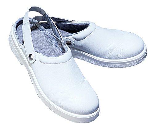 ISACCO Sabots avec Renfort Blanc Blanc