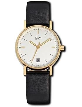 Mini Basic - Uhr - goldfarben/schwarz