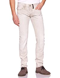 Freesoul - Only Hero - Jean - Slim - Délavé Bleached - Homme