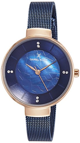 Daniel Klein Analog Blue Dial Women's Watch - DK11526-5