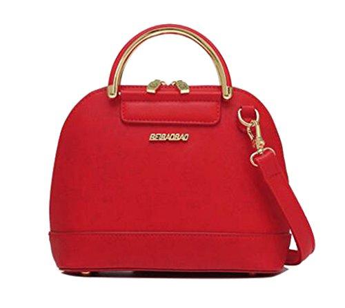 FAIRYSAN Borsa a tracolla donna a freddo (rosso) Rosso