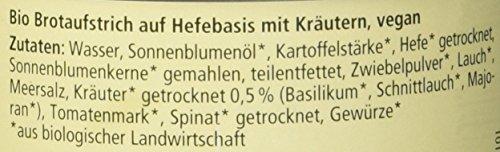 Alnatura Bio Pastete Kräuter, vegan, 6er Pack (6 x 125 g) - 3