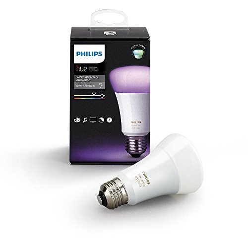 41iJPBvIpDL [Bon Plan Philips HUE Philips Hue Ampoule connectée White and Color E27 3ème génération