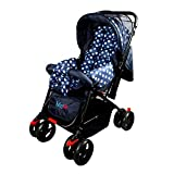 BabyGo Charm Reversible Baby Stroller and Pram with Mosquito Net & Wheel Breaks