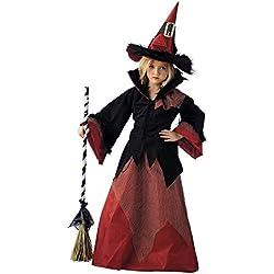 Disfraz de bruja Dacha para niña, talla 4.