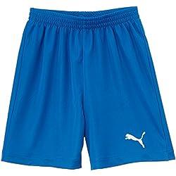 PUMA SMU Velize Shorts W/O Innerslip - Pantalones cortos de fútbol para niño, color puma royal, talla 140 cm