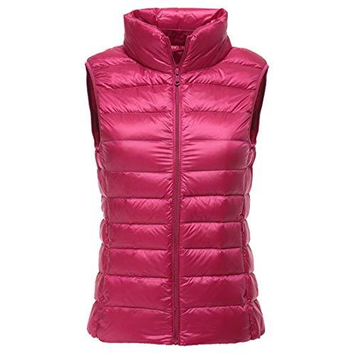 41iJR4weRXL. SS500  - Women's Packable Lightweight Puffer Vest Winter Waistcoat Padded Outdoor Gilets Body Warmers