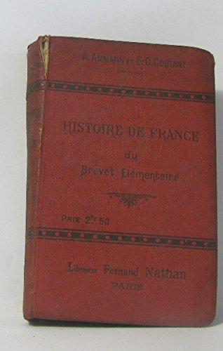 Histoire de France du Brevet élémentaire