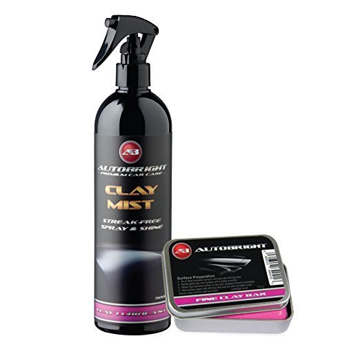 autobright-pre-cleaning-car-wax-clay-mist-250ml-100g-pink-fine-clay-bar-smooth-finish-detailing-kit