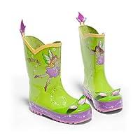 Kidorable Original Branded Fairy Rubber Rain Boots Wellies for Little Girls Boys Children Toddlers (8 UK)
