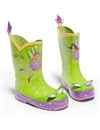 Kidorable Original Gebrandmarkt Gummistiefel / Regen Stiefel Lotus für Jungen & Mädchen EU 31 P0WI0fA