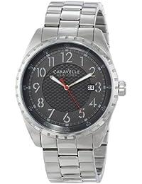 Bulova Analog Grey Dial Men's Watch - 43B134