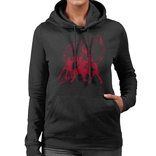 Power Fairytail Women's Hooded Sweatshirt Black