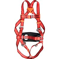 YANWE Multipurpose Full Body Climbing Harness,Fire rescue Outdoor Construction Aerial Work Fall Protection Polyester Seat Belt