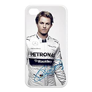 Nice Nico Rosberg signed HD Image Personalized Apple iPhone 4 4s TPU case cover