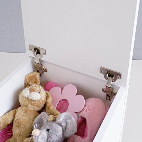 Baúl infantil juguetero Blanco