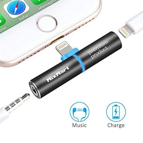 MixMart Adaptador Jack 3.5 mm para iPhone iPhone X