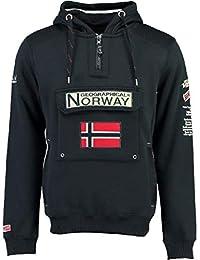 Geographical Norway Sudadera DE Hombre GYMCLASS B Azul Marino
