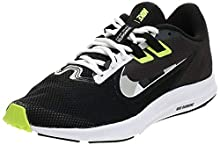 Nike Downshifter 9, Chaussure de Course Homme, Black Particle Grey Dark Smoke Grey White, 44.5 EU
