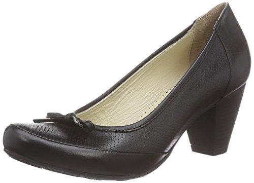 Andrea Conti - 0380542, Scarpe col tacco Donna Nero (noir (schwarz 002))