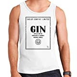 Cloud City 7 Shelby Company Limited Gin Label Peaky Blinders Men's Vest