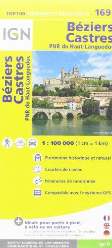 Béziers / Castres ign (Ign Map) par Institut Geographique National