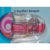 MAM Trends pacifier Clip keeper 1pk - girl colors