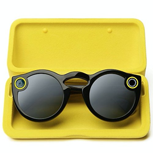 snapchat Spectacles, color negro