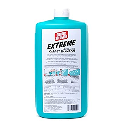 Simple Solution Extreme Carpet Shampoo   Professional Strength Pet Stain and Odour Remover   Compatible with All… 2