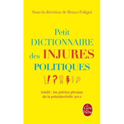 Petit dictionnaire des injures politiques