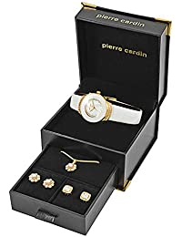Pierre Cardin Uhr PCX0312L02 Geschenk Set Schmuck Damen