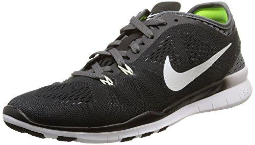 Nike Damen Free TR 5 Breathe Laufschuhe Schwarz/Weiß, 38 EU