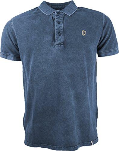 Preisvergleich Produktbild Indicode Herren Poloshirt Abbortsford in Navy,  Gr.: M